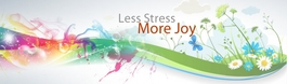 Less Stress, More Joy
