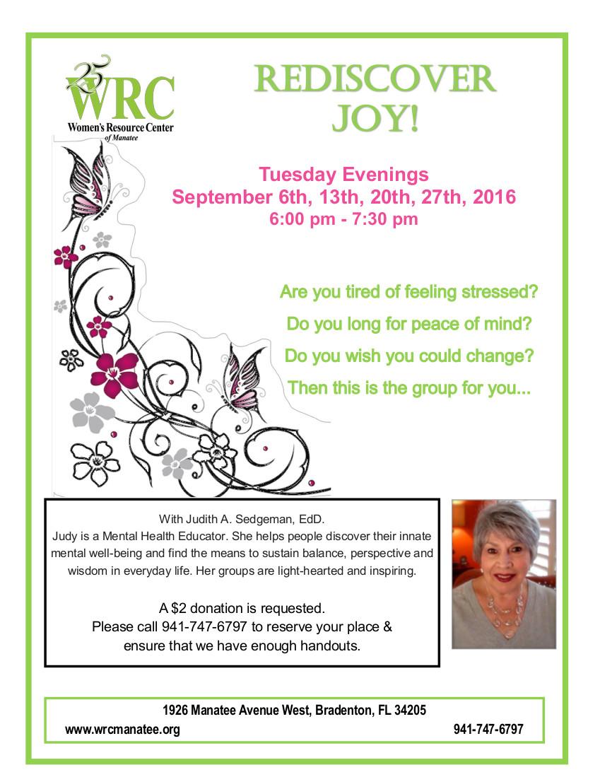 Rediscover Joy!
